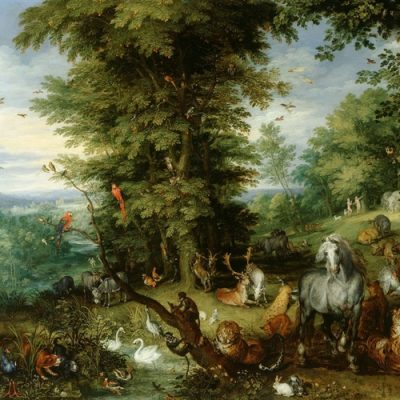 Adam and Eve in the Garden of Eden, Jan Brueghel the Elder, 1615